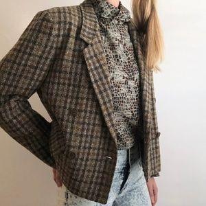 MAXMARA/ boxy wool blazer - top coat